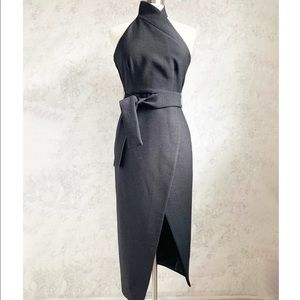 C/MEO Collective Stand Still Black Evening Dress S